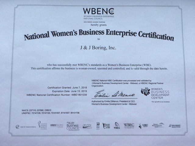 WBENC - WBE Certification